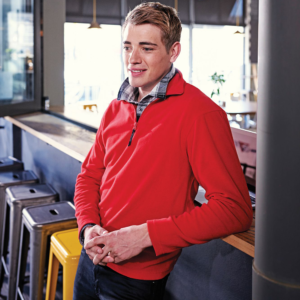 Zip Neck Micro Fleece TRF549 Regatta